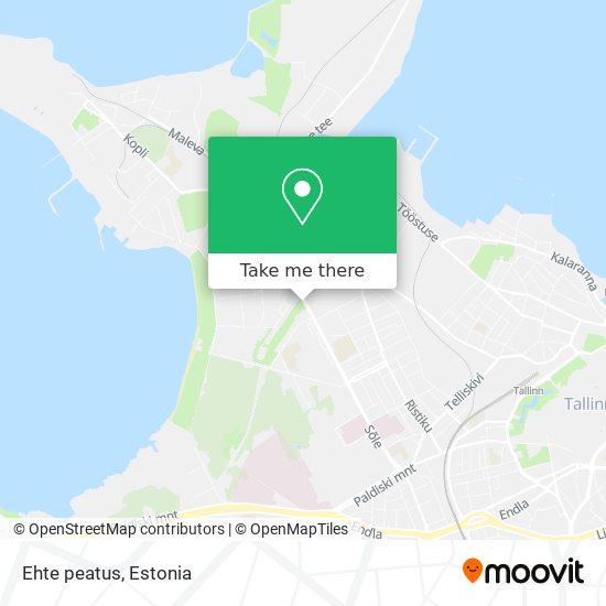 Ehte peatus map