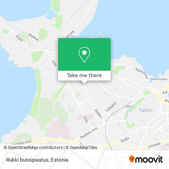 Rukki bussipeatus map