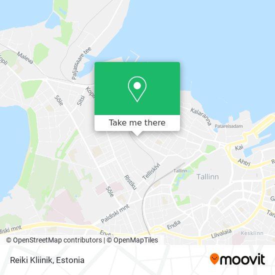 Reiki Kliinik map