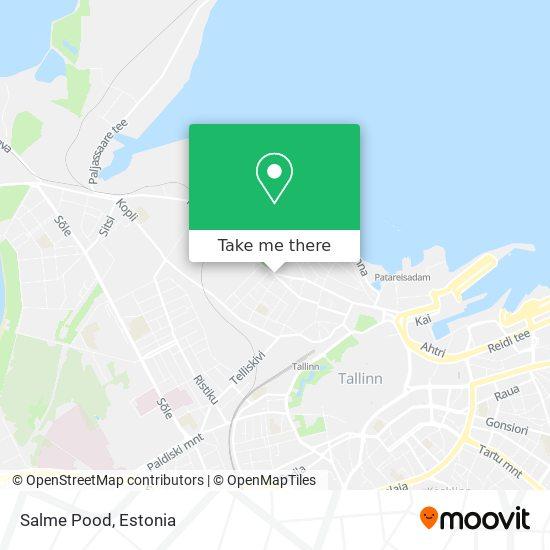 Salme Pood map