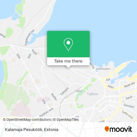 Kalamaja Pesuköök map
