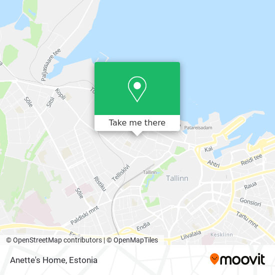 Anette's Home map