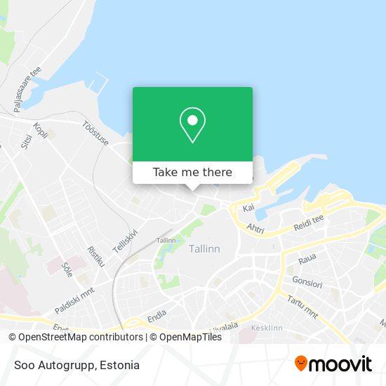 Soo Autogrupp map