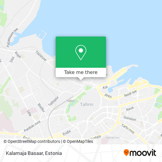 Kalamaja Basaar map