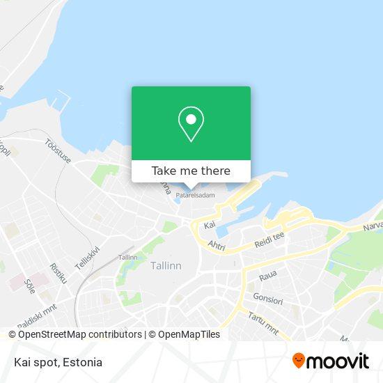 Kai spot map