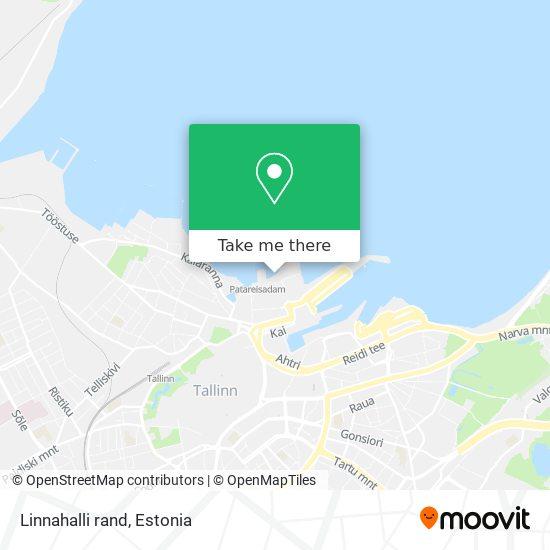Linnahalli rand map