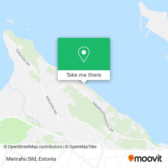 Merirahu Sild map