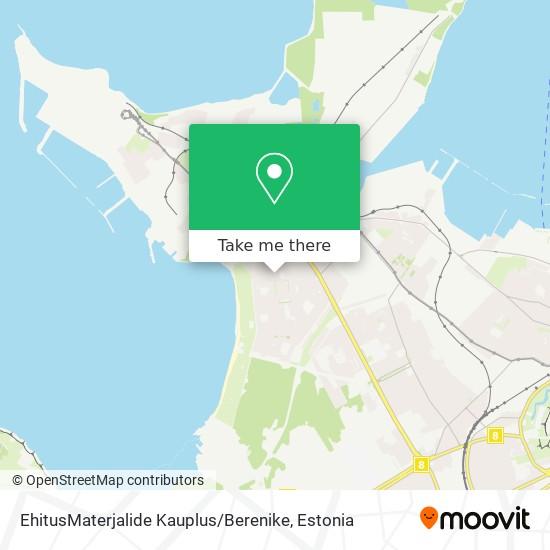 EhitusMaterjalide Kauplus / Berenike map