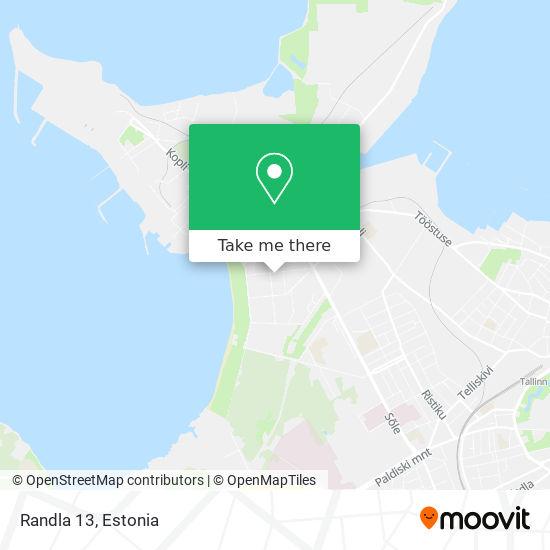 Randla 13 map