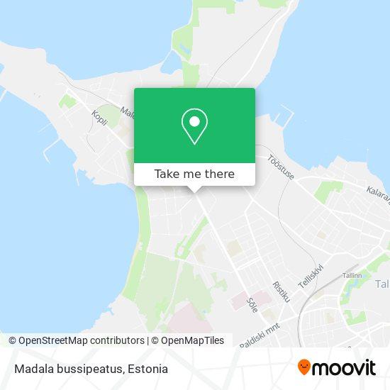 Madala bussipeatus map