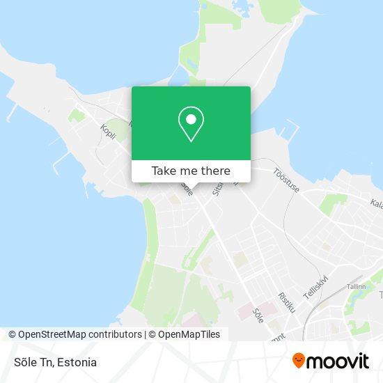 Sõle Tn map