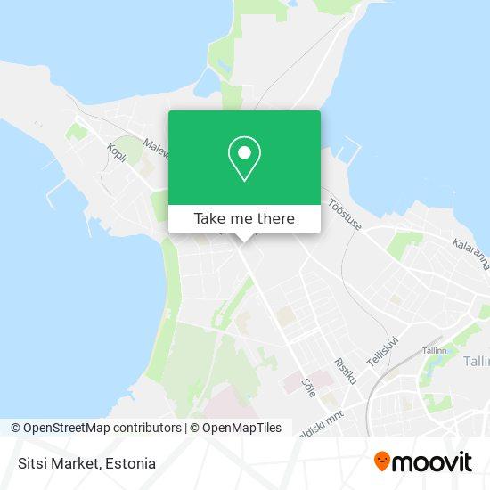 Sitsi Market map