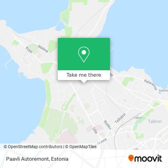 Paavli Autoremont map