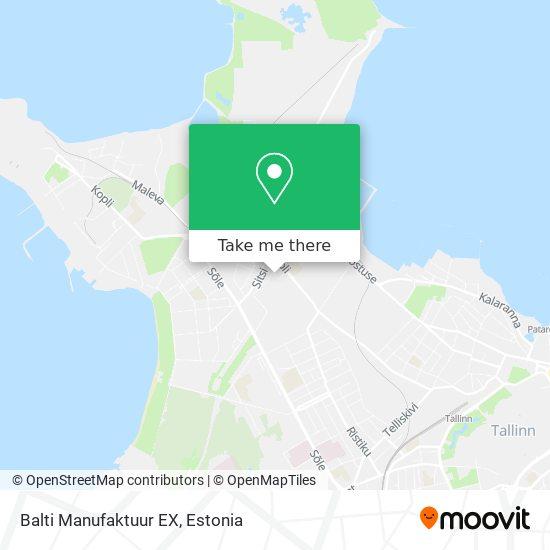 Balti Manufaktuur EX map