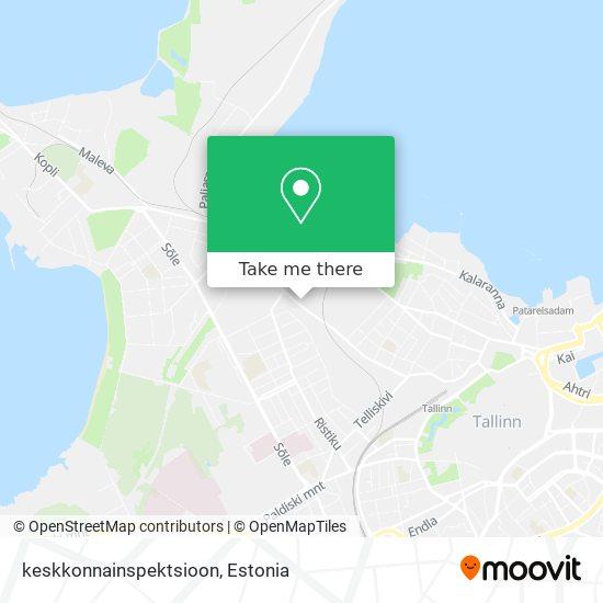 keskkonnainspektsioon map
