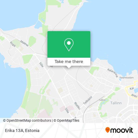 Erika 13A map