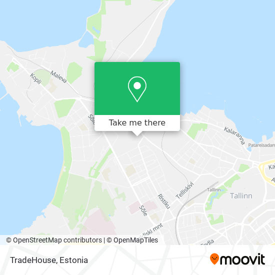 TradeHouse map