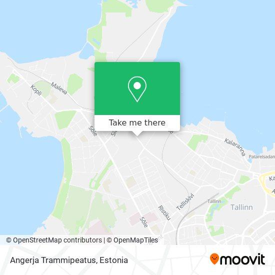 Angerja Trammipeatus map