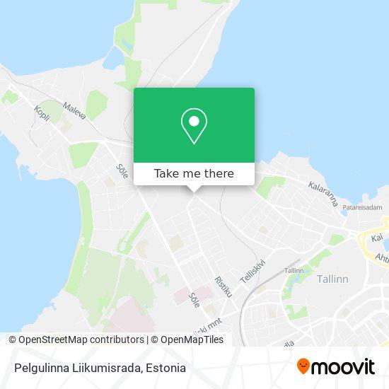 Pelgulinna Liikumisrada map