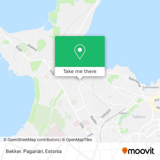 Bekker. Pagariäri map