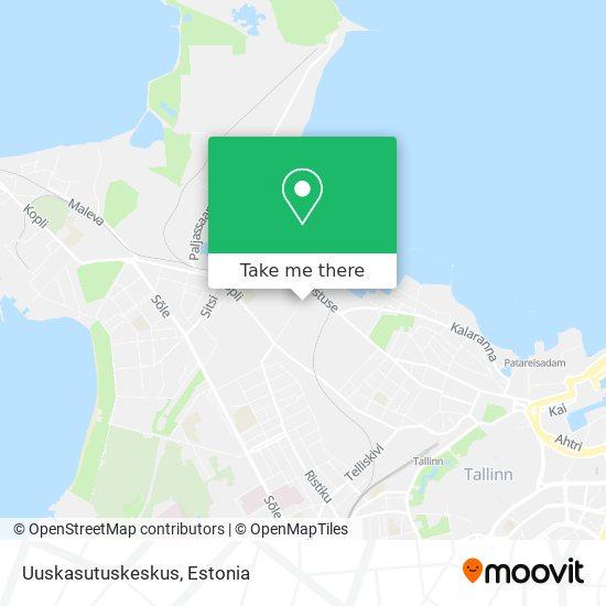 Uuskasutuskeskus map
