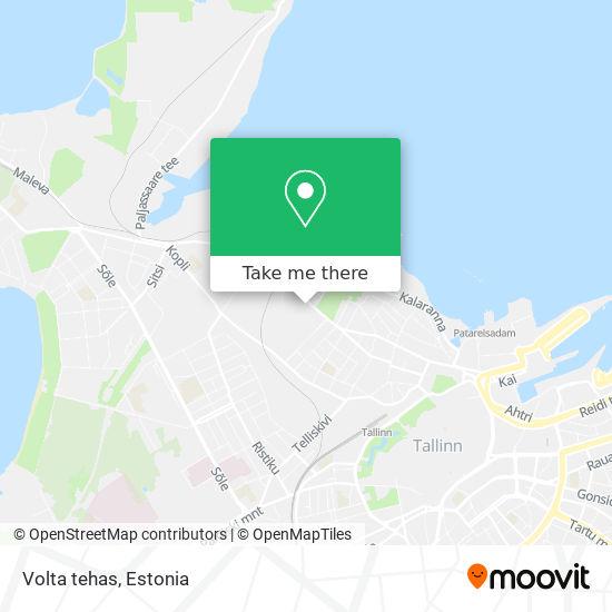 Volta tehas map