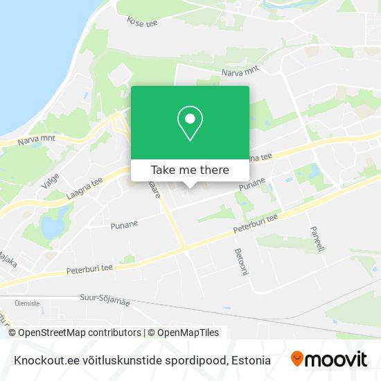 Knockout.ee võitluskunstide spordipood map