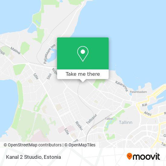 Kanal 2 Stuudio map