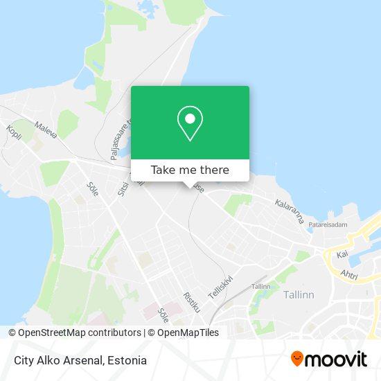 City Alko Arsenal map