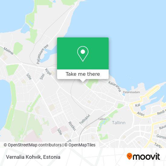 Vernalia Kohvik map