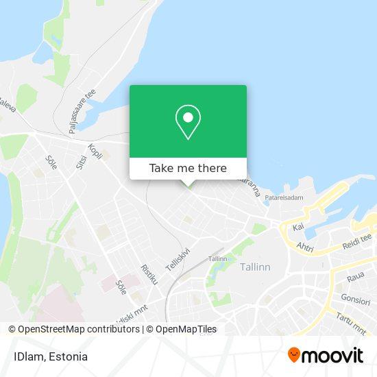 IDlam map