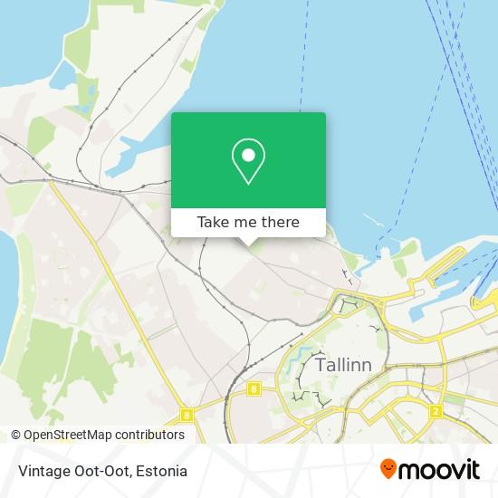 Vintage Oot-Oot map