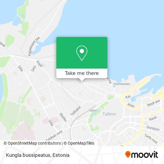 Kungla bussipeatus map