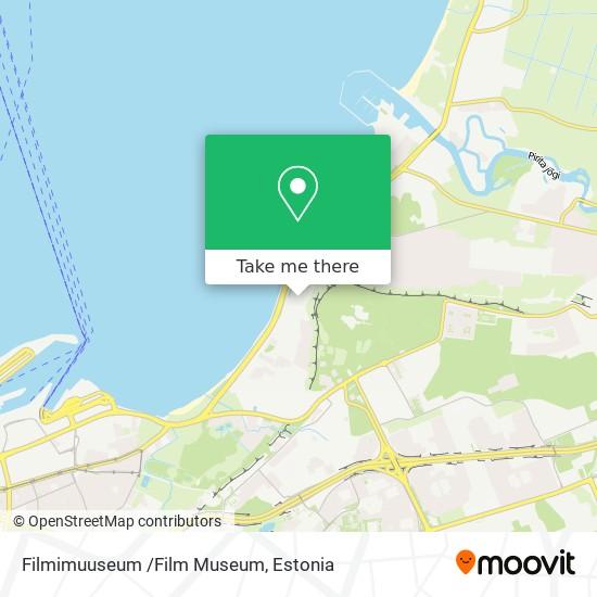 Filmimuuseum /Film Museum map