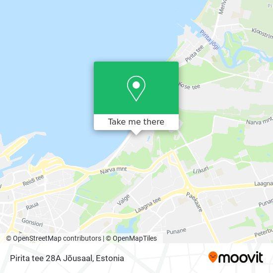 Pirita tee 28A Jõusaal map