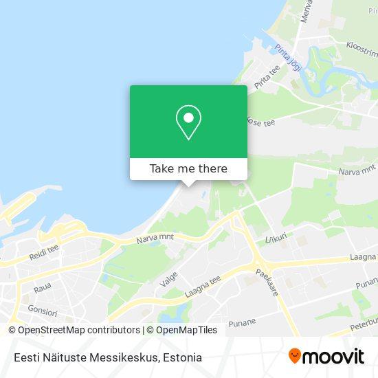 Карта Eesti Näituste Messikeskus