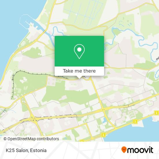 K25 Salon map
