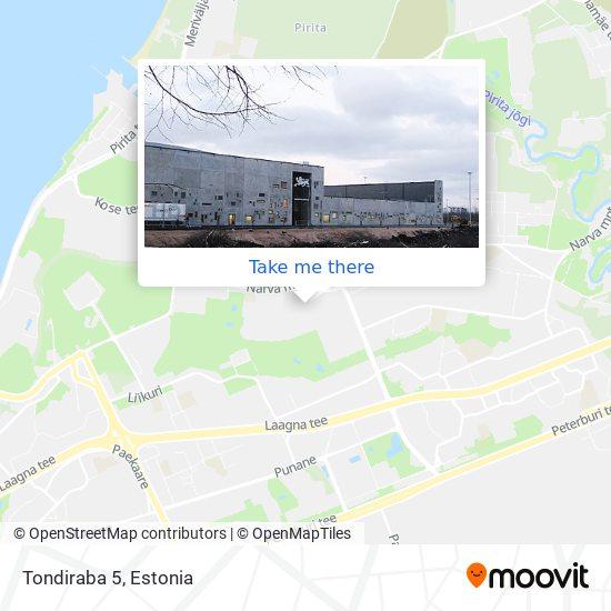 Tondiraba 5 map