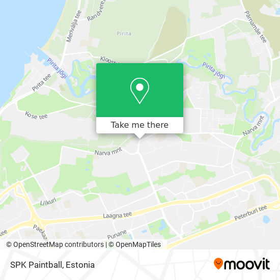 SPK Paintball map