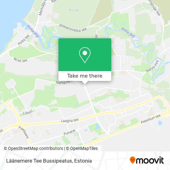 Läänemere Tee Bussipeatus map