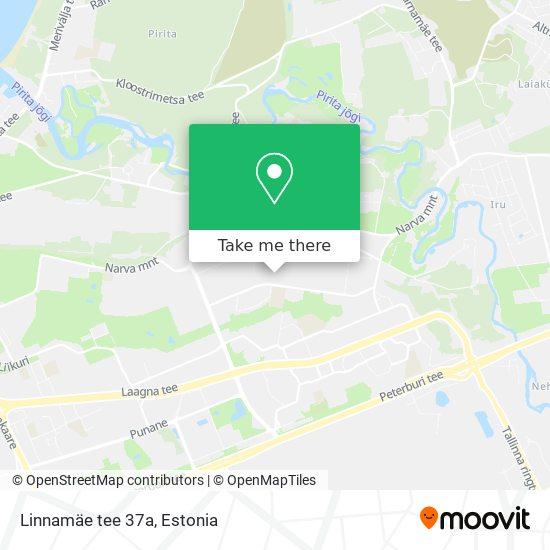 Linnamäe tee 37a map