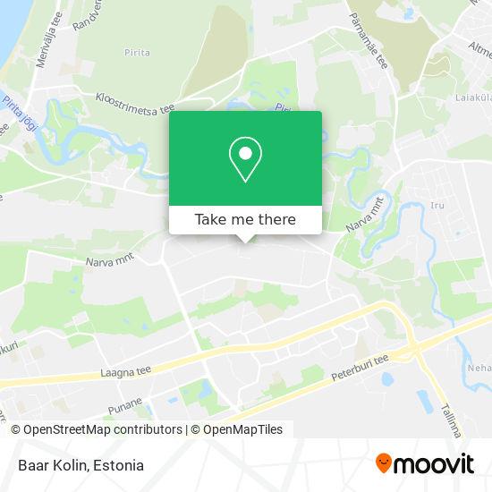 Baar Kolin map