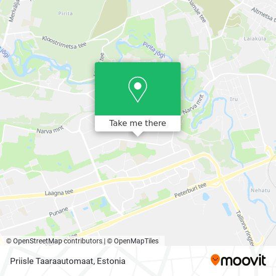Priisle Taaraautomaat map