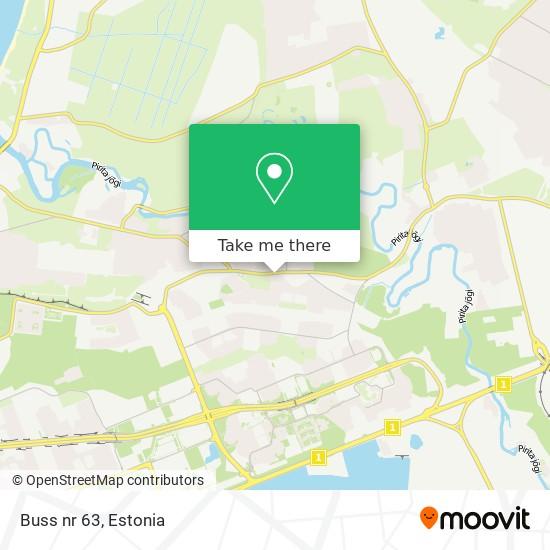 Buss nr 63 map