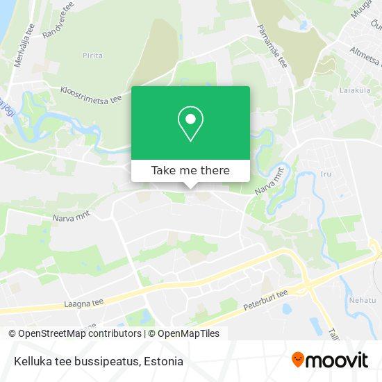 Kelluka tee bussipeatus map