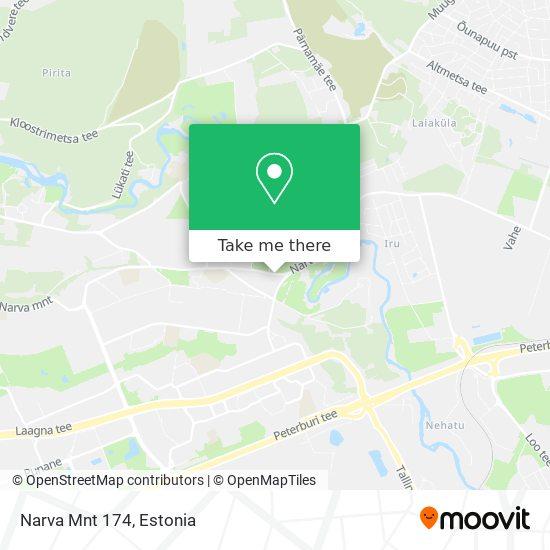 Narva Mnt 174 map