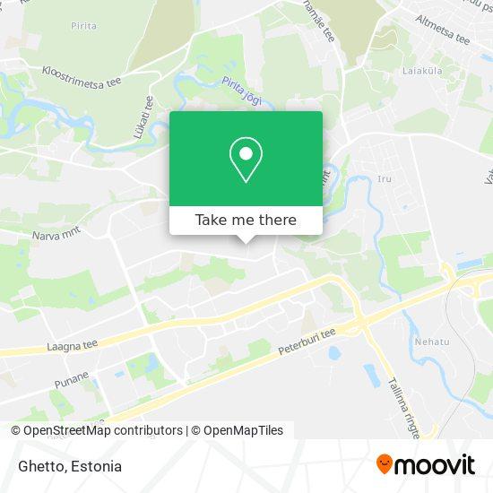 Ghetto map