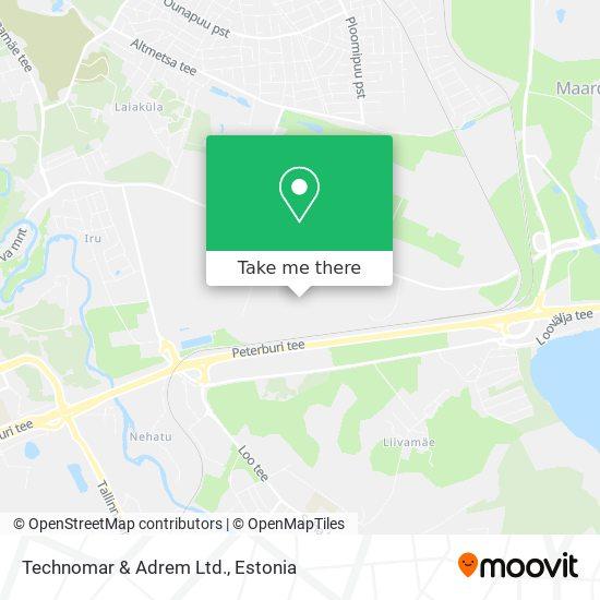 Technomar & Adrem Ltd. map