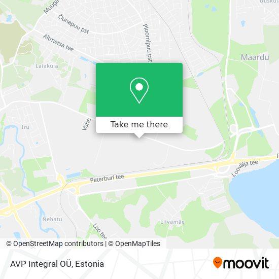AVP Integral OÜ map