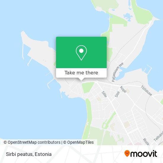 Sirbi peatus map